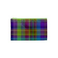 Plaid, Cool Cosmetic Bag (xs)