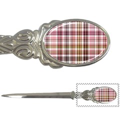 Plaid, Candy Letter Openers