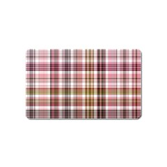 Plaid, Candy Magnet (name Card)