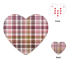 Plaid, Candy Playing Cards (Heart)