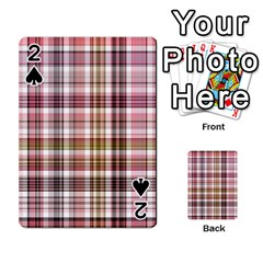 Plaid, Candy Playing Cards 54 Designs