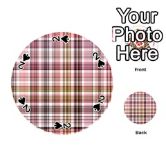 Plaid, Candy Playing Cards 54 (Round)