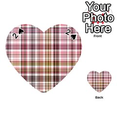 Plaid, Candy Playing Cards 54 (Heart)