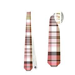Plaid, Candy Neckties (two Side)