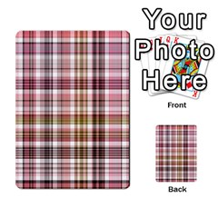 Plaid, Candy Multi Purpose Cards (rectangle)