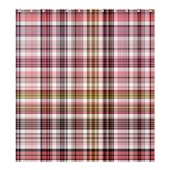 Plaid, Candy Shower Curtain 66  x 72  (Large)