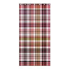 Plaid, Candy Shower Curtain 36  X 72  (stall)