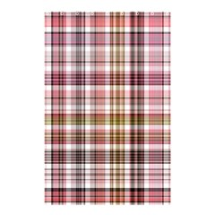 Plaid, Candy Shower Curtain 48  x 72  (Small)