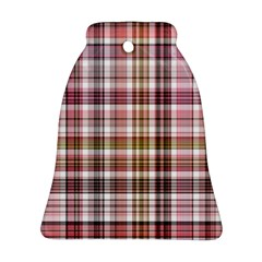 Plaid, Candy Bell Ornament (2 Sides)