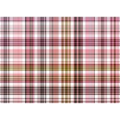 Plaid, Candy Birthday Cake 3D Greeting Card (7x5)