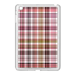 Plaid, Candy Apple Ipad Mini Case (white)