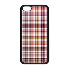 Plaid, Candy Apple Iphone 5c Seamless Case (black)
