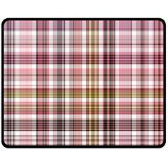 Plaid, Candy Double Sided Fleece Blanket (medium)