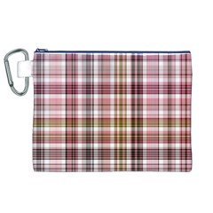 Plaid, Candy Canvas Cosmetic Bag (XL)