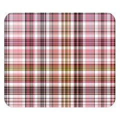 Plaid, Candy Double Sided Flano Blanket (Small)