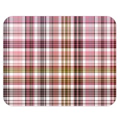 Plaid, Candy Double Sided Flano Blanket (Medium)