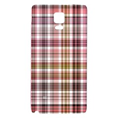 Plaid, Candy Galaxy Note 4 Back Case