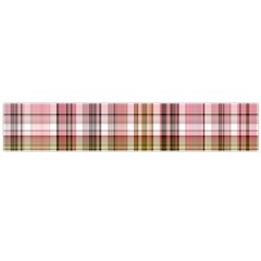 Plaid, Candy Flano Scarf (Large)