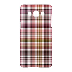 Plaid, Candy Samsung Galaxy A5 Hardshell Case