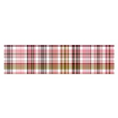 Plaid, Candy Satin Scarf (Oblong)