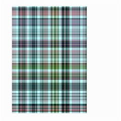 Plaid Ocean Large Garden Flag (Two Sides)