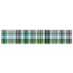 Plaid Ocean Flano Scarf (Small)