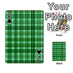 Plaid Forest Playing Cards 54 Designs