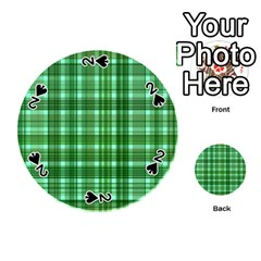Plaid Forest Playing Cards 54 (Round)