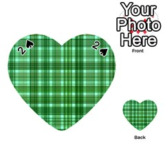 Plaid Forest Playing Cards 54 (Heart)