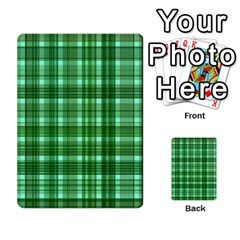 Plaid Forest Multi-purpose Cards (Rectangle)