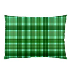 Plaid Forest Pillow Cases