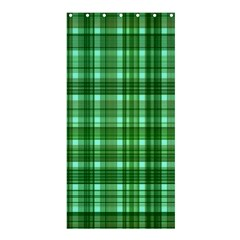 Plaid Forest Shower Curtain 36  x 72  (Stall)