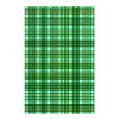 Plaid Forest Shower Curtain 48  x 72  (Small)