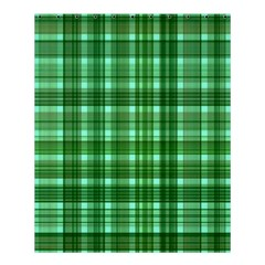 Plaid Forest Shower Curtain 60  X 72  (medium)
