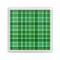 Plaid Forest Memory Card Reader (Square)