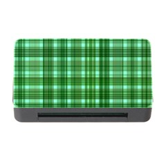 Plaid Forest Memory Card Reader With Cf