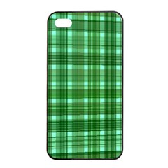 Plaid Forest Apple Iphone 4/4s Seamless Case (black)