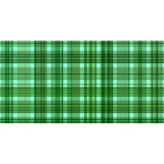 Plaid Forest You Are Invited 3d Greeting Card (8x4)