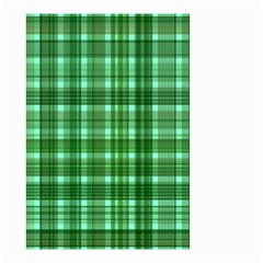Plaid Forest Small Garden Flag (two Sides)