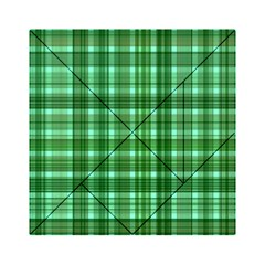 Plaid Forest Acrylic Tangram Puzzle (6  x 6 )