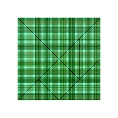 Plaid Forest Acrylic Tangram Puzzle (4  x 4 )