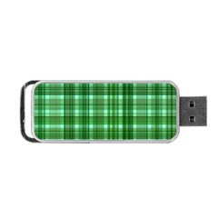 Plaid Forest Portable Usb Flash (two Sides)