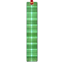 Plaid Forest Large Book Marks