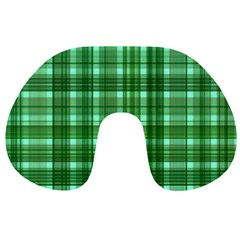 Plaid Forest Travel Neck Pillows