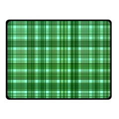 Plaid Forest Double Sided Fleece Blanket (Small)
