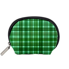 Plaid Forest Accessory Pouches (small)