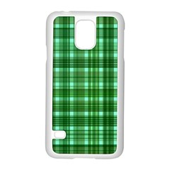 Plaid Forest Samsung Galaxy S5 Case (white)