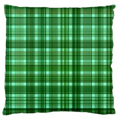 Plaid Forest Standard Flano Cushion Cases (one Side)