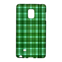 Plaid Forest Galaxy Note Edge