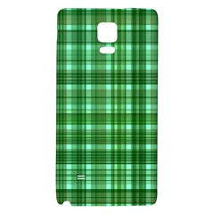 Plaid Forest Galaxy Note 4 Back Case